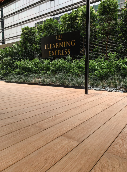 Onewood Decking at Lifelong Learning Institute
