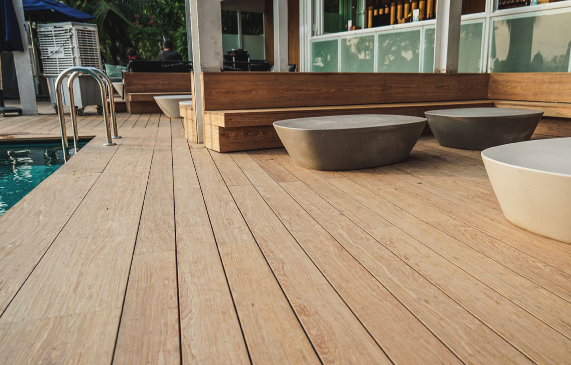 Onewood Decking at FOC Sentosa
