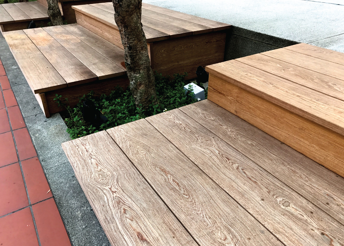 Onewood Outdoor Bench